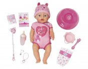 Baby Born Soft Touch Interaktiv Doll Jente Blue Eyes