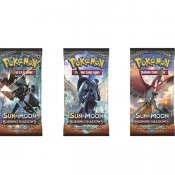 Pokémon Sun & Moon Burning Shadows Booster samlekort 3-pack
