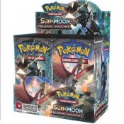 Pokémon Sun & Moon Burning Shadows Display (36 Booster) samlekort
