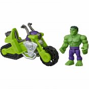Hulk Smash motorsykkel tank, Superhero Adventures Marvel