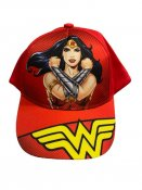 Wonder Woman rød lue