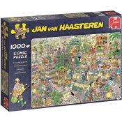 Jan Van Haasteren puslespill, The Garden Center, 1000 stykker