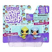 Littlest Pet Shop 2 stk figurer serien 1
