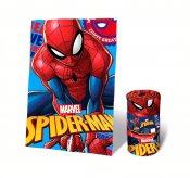Spiderman teppe pledd, 100x150 cm