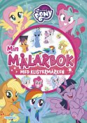 My Little Pony coloring bok med klistremerker