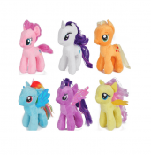 My Little Pony plysj leker, 20cm