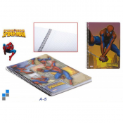 Fin Spiderman Notebook A5 60 sider