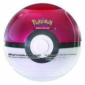 Pokemon tinn ball Pokeball serie på 4 Samler kort