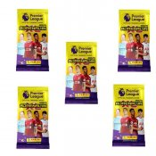 5-Pack Premier League 2020/21 Fotball kortene Trading Cards Booster