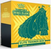 Pokemon Sword & Shield Clash Rebel Elite Trainer Box samlekort