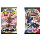 Pokémon 2 Pack Sword & Shield en Rebel Clash Booster samlekort