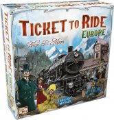 Ticket To Ride Europe spilL