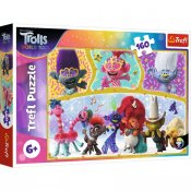 Trolls World Tour 160 bit puslespill