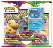 Pokémon Sword & Shield Vivid Voltage Trippelblister Vaporeon 30 st Byttekort