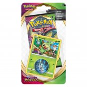 Pokémon, Sword & Shield Vivid Voltage, Checklane Blister Booster Grookey byttekort