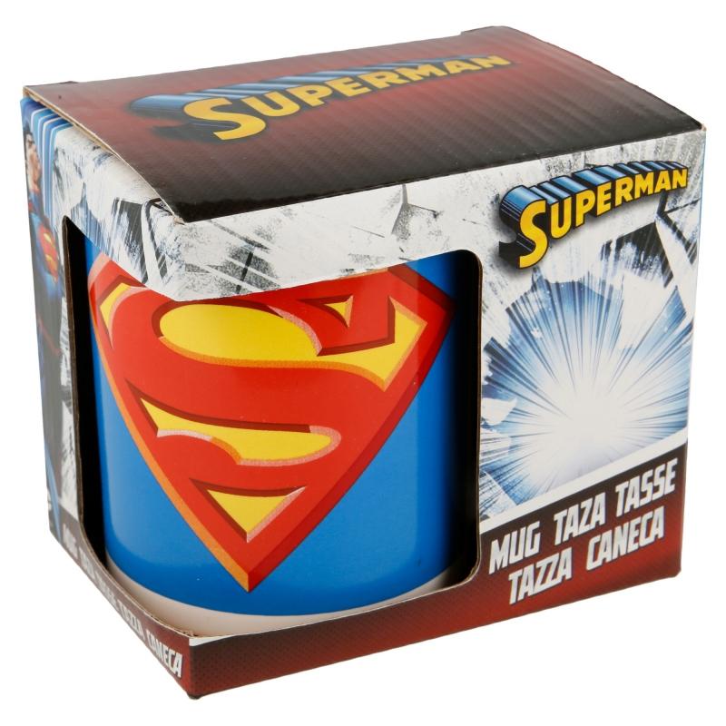 STOR Super Man Porselen Krus